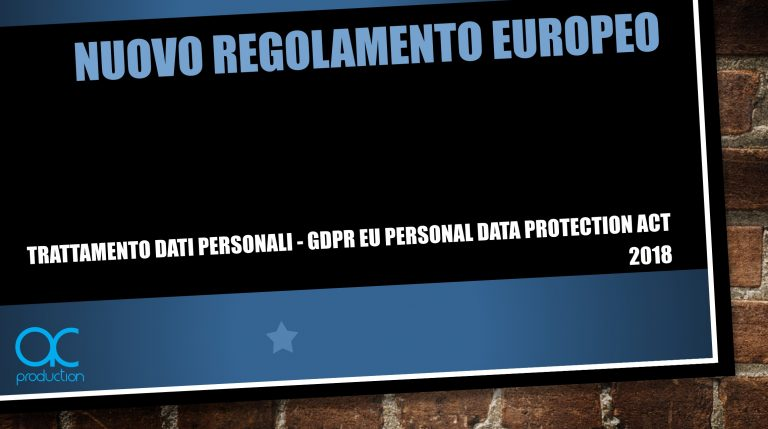 UE GDPR